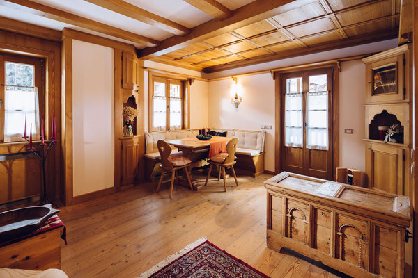 Soggiorno - Appartamento in affitto Zuel, Cortina d'Ampezzo