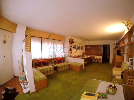 Soggiorno - Open space centrale in affitto Cortina d'Ampezzo