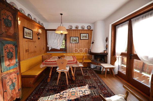Zona giorno - Appartamento in affitto ad Alverà, Cortina d'Ampezzo