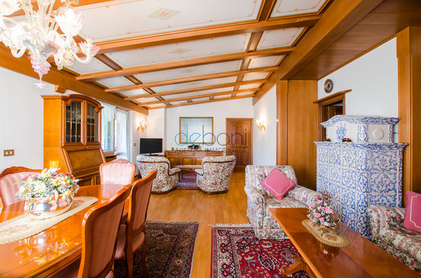 Soggiorno - Attico di lusso in affitto a Cortina d'Ampezzo