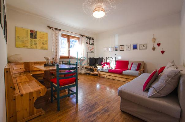 Soggiorno - Appartamento in affitto a Cadin, Cortina d'Ampezzo