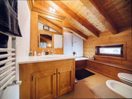 Bagno - Appartamento in affitto Zuel, Cortina d'Ampezzo