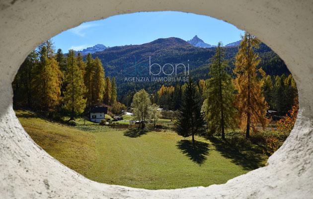 Vista - Attico da ristrutturare in vendita a Cortina d'Ampezzo