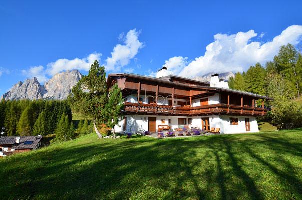 Esterno - Appartamento in affitto ad Alverà, Cortina d'Ampezzo