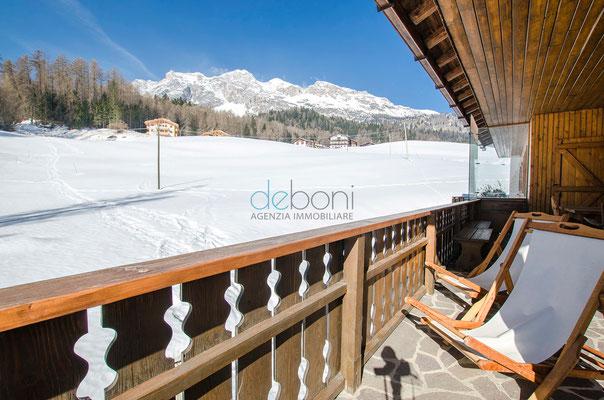 Poggiolo Vista Tofana - Appartamento in affitto Cortina d'Ampezzo