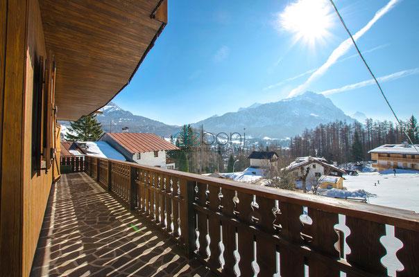 Poggiolo Vista Faloria - Appartamento in affitto Cortina d'Ampezzo