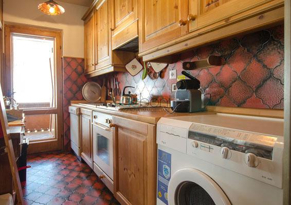 Cucina - Appartamento in affitto Cortina d'Ampezzo
