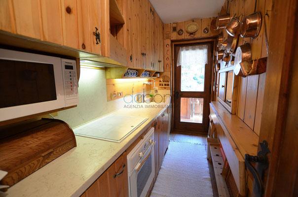 Cucina - Appartamento in affitto ad Alverà, Cortina d'Ampezzo