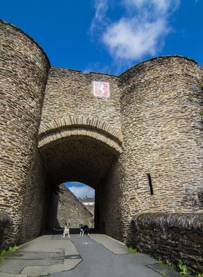 Das alte Stadttor von Saint Lô.