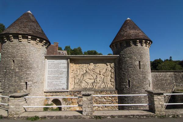 An der Fontaine d'Arlette soll Robert, der Vater Wilhelms, die schöne Arlette kennen und lieben gelernt haben.