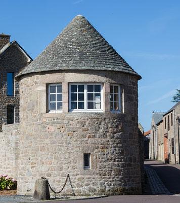 Cour Sainte Catherine in Barfleur, ein mittelalterlicher Bau