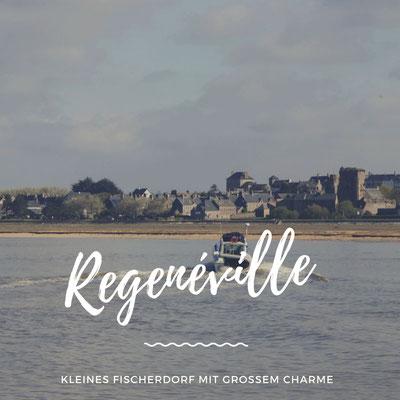 Regnéville-sur-Mer mit Hund