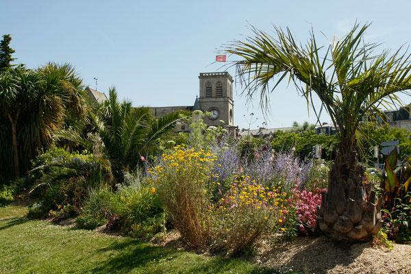 Und so schön ist Cherbourg im Blumenkleid. Foto: Villes et Villages Fleuris.