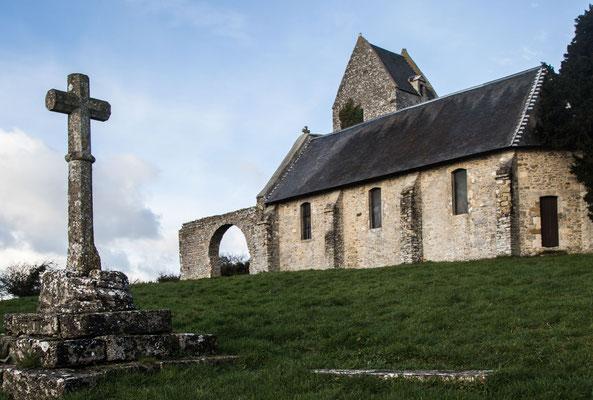 Die Chapelle Saint-Martin am Mont Doville