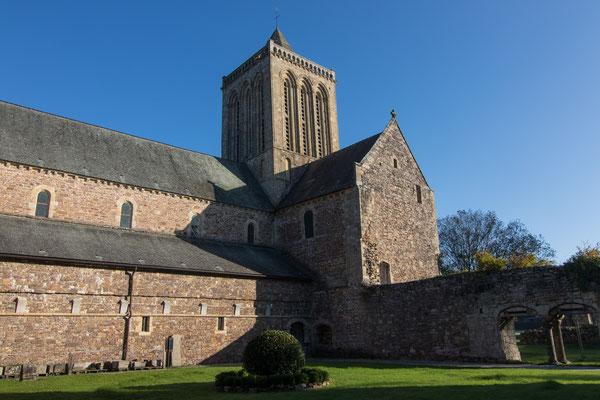 Der ehemalige Kreuzgang des Klosters