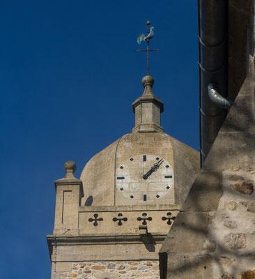 Der Turm der Klosterkirche.