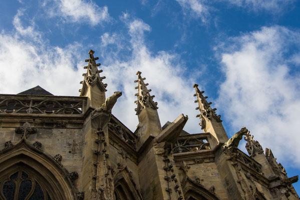 Außenansicht der Kathedrale Notre-Dame.