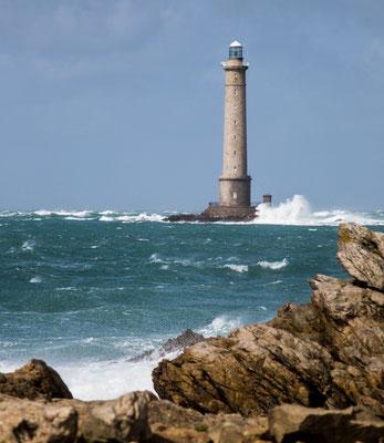 Der Leuchtturm in Goury – besonders bei Sturm beeindruckend.