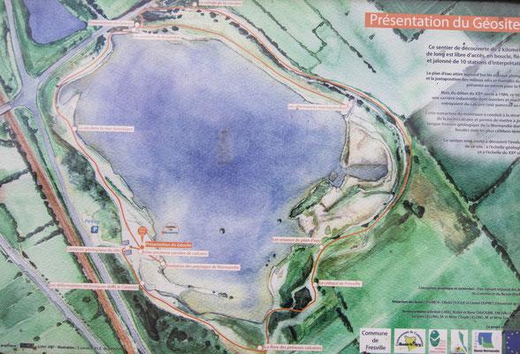 Der kleine Rundweg rund um den größeren See bringt Euch rund einen Kilometer zusätzlich auf den Tacho. Aber sie lohnen sich.