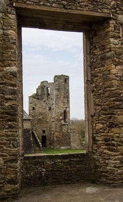 Ein- und Ausblicke im Château Gratot