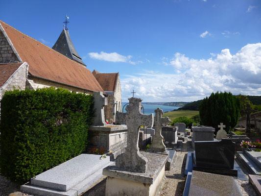 Der Friedhof in Varengeville. Foto: Ben Collier /Normandietourisme