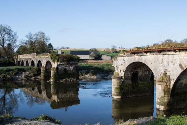 Erbe des Krieges: Der Pont de la Roque wurde während der Operation Cobra von den Alliierten zerstört, um den Nazitruppen den Fluchtweg abzuschneiden.