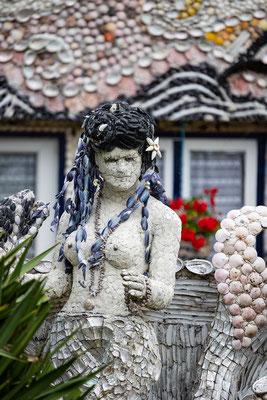 Muschelkunst in Siouville-Hague