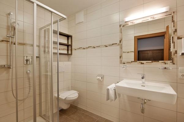 Bild: Beispiel Badezimmer Fischerwirt