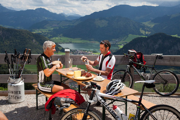 Bild: Mountainbiken Walchsee