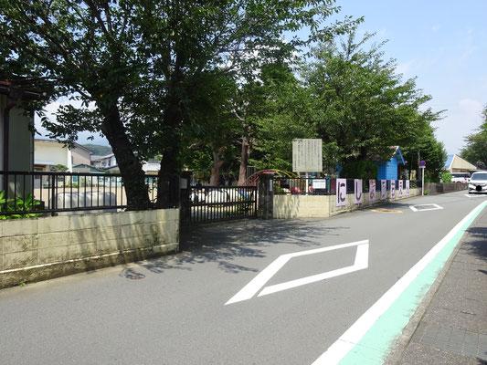 裾野市立西幼稚園まで約1.3km