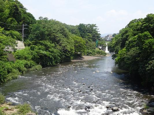 五竜の滝まで約150m