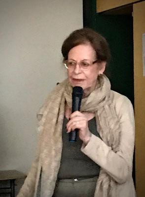 Frau Weyl während ihrer Ausführungen