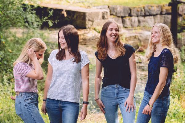 Crailsheim Freundinnen Gruppenfotos Fotograf