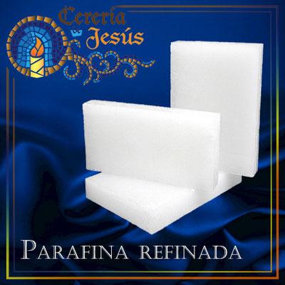 Parafina refinada