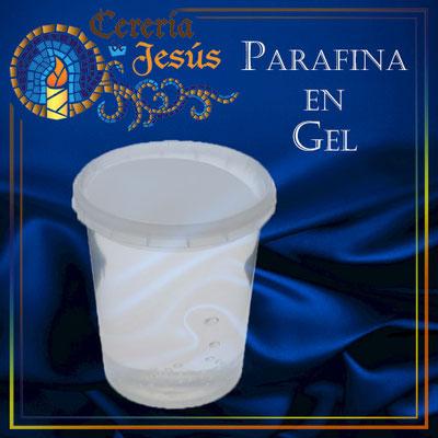 Parafina en gel