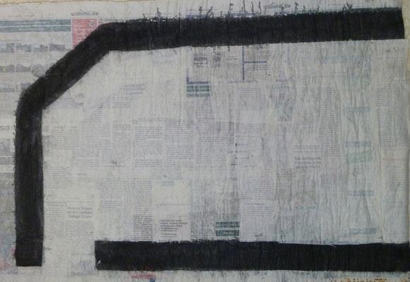 Straßen von Penig  ( (50 cm x70 cm )2011) Blatt 5