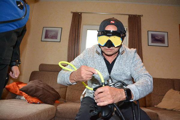 Tauchausbildung Spezialkurse Kindertauchen Thomas Kromp Jan von Rahden MaraFlow-Dive