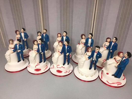 Alle Brautpaare auf einmal