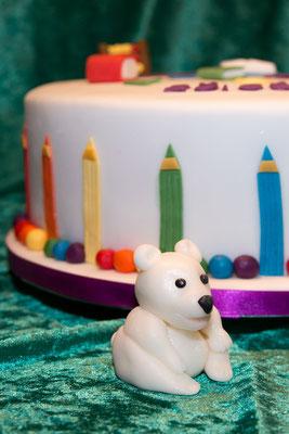 ... Buntstifte, Und Eisbär :->