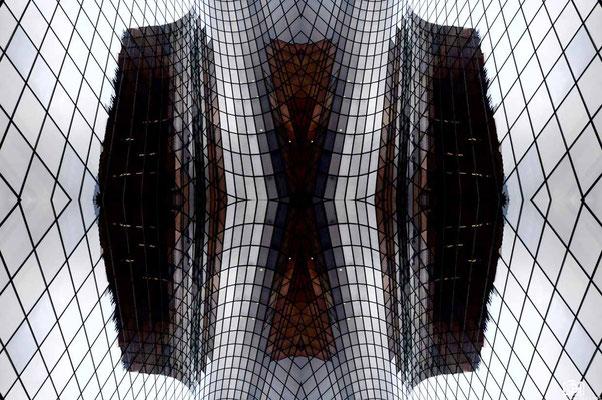 Symétrie architecturale, Paris, 2016, Léo Derivot