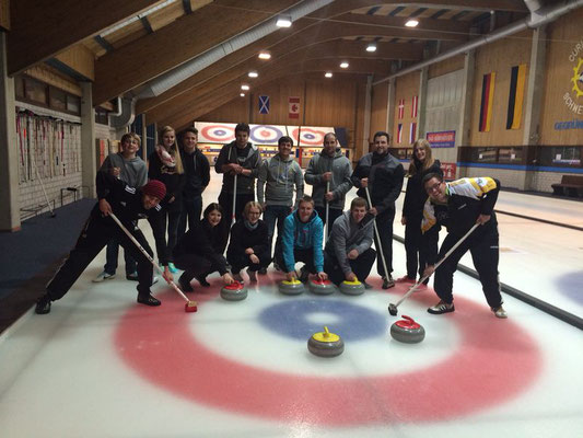 Curling-Gruppenabend