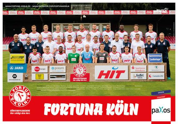 Mannschaft SC Fortuna Köln