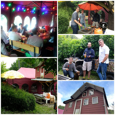 Collage vom Sommerfest