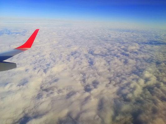 Über den Wolken ist die Freiheit grenzenlos...
