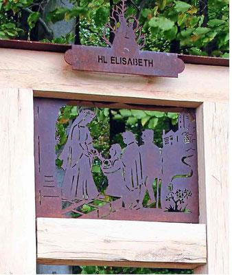 Die heilige Elisabeth.