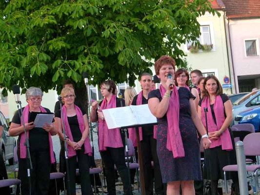 22. Juli 2014 - im Rahmen des Kultursommers, Auftritt am Waldmünchner Marktplatz