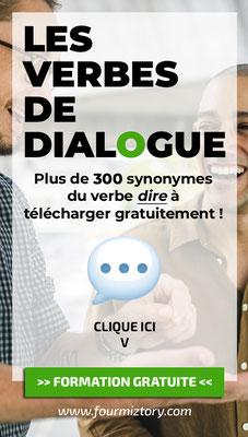 300 synonymes du verbe dire à télécharger gratuitement !