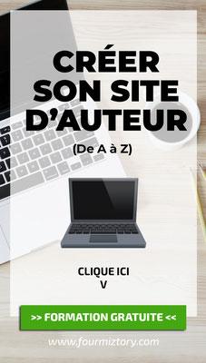 Créer son site d'auteur clic par clic - Anaïs W