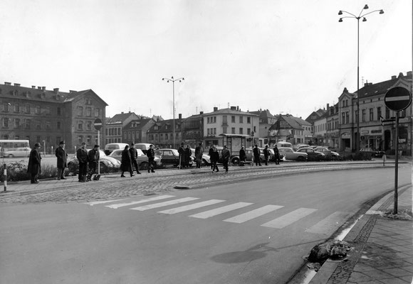 Marktplatz Dudweiler 1968