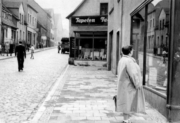 Dudweiler um 1950, Untere Scheidter Straße